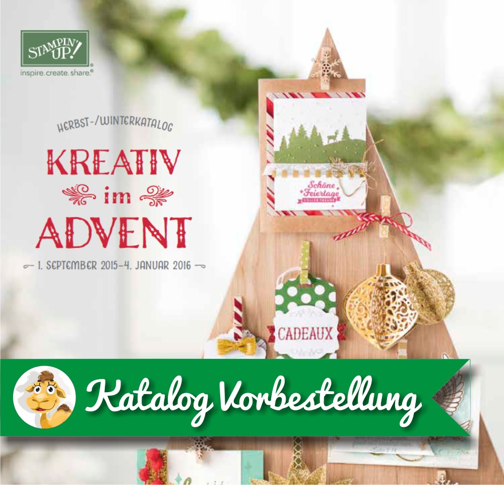 Stampin up holiday mini 2015 2016 Saisonkatalog Weihnachtskatalog Winterkatalog