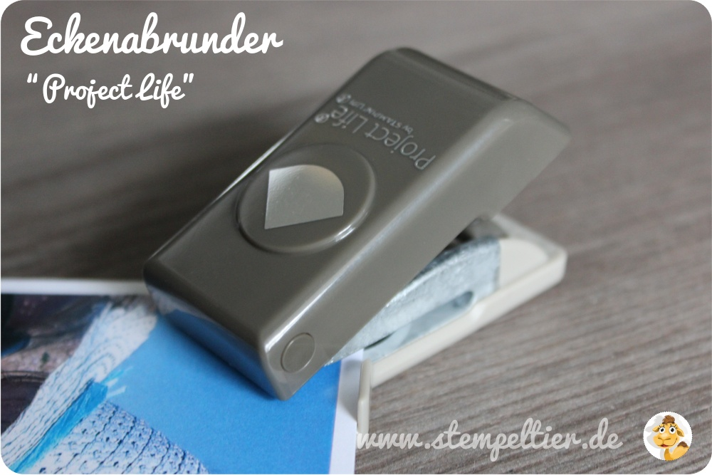 Stampin up Eckenabrunder project life stempeltier