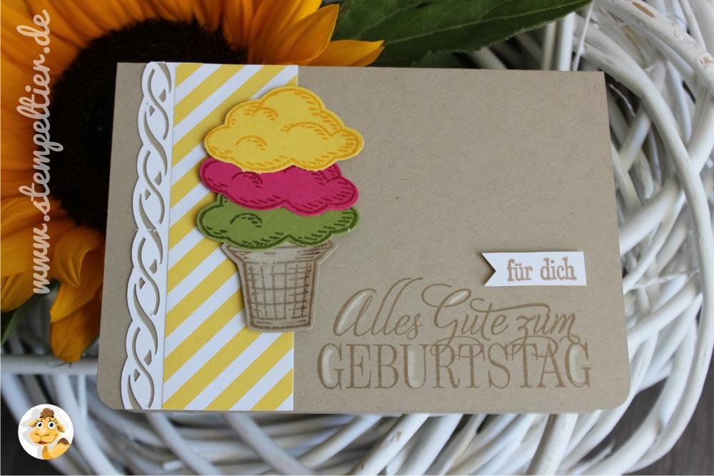 geburtstag stampin up Grußkarte card birthday gastgeber set worte die gut tun 02