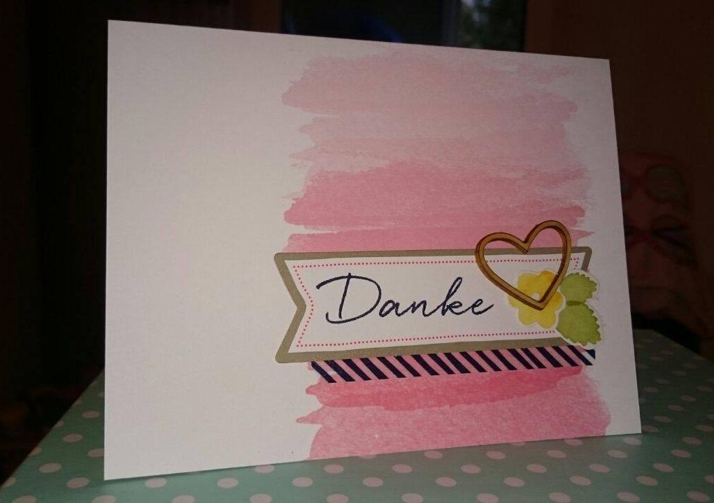 stampin up malerische Grüße stempeltier Danke thank you watercolor wishes