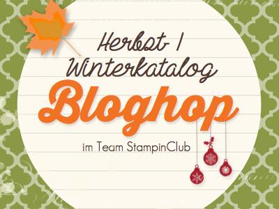 Flockenzauber beim Stampin' Up! BlogHop Herbst Winterkatalog