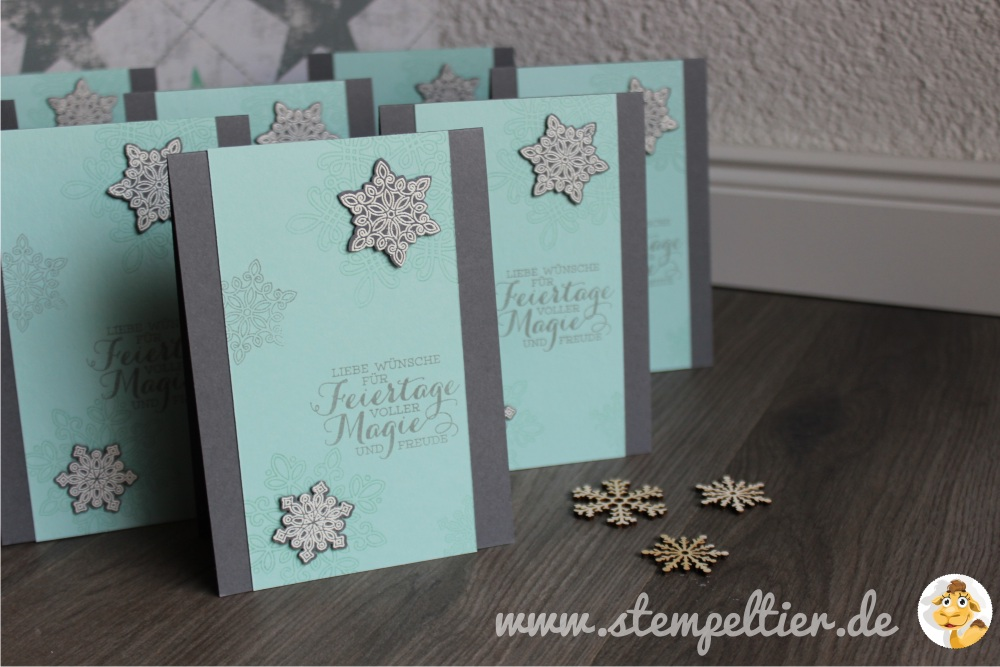 stampin up stempeltier flockenzauber flurry of wishes feiertage winterkatalog 2015 1