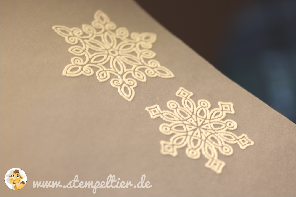 stampin up stempeltier flockenzauber flurry of wishes feiertage winterkatalog 2015 prägen