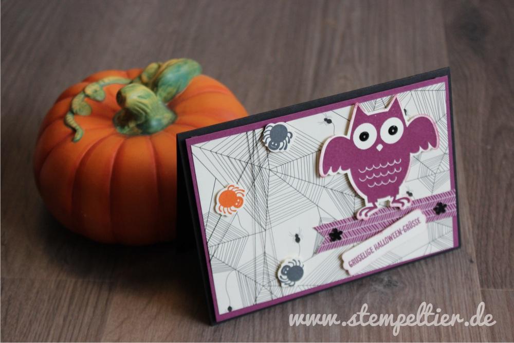 stampin up eule owl howloween treat halloween spuk und spaß