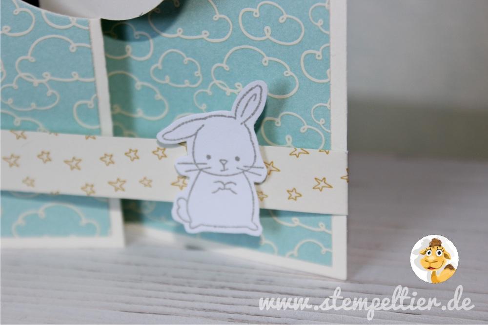 stampin up sweet lil things DSP süße kleinigkeiten stempeltier hase bunny clouds wolken 1