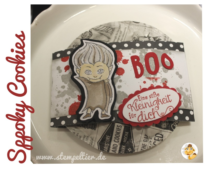 stampin up stempeltier halloween bloghop stampinclub vampir vampire cookie verpackung treat süße kleinigkeit