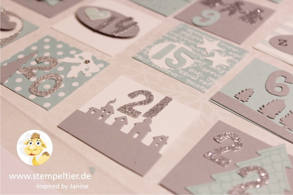 Bekannt Adventskalender Workshop - Stempeltier GV35