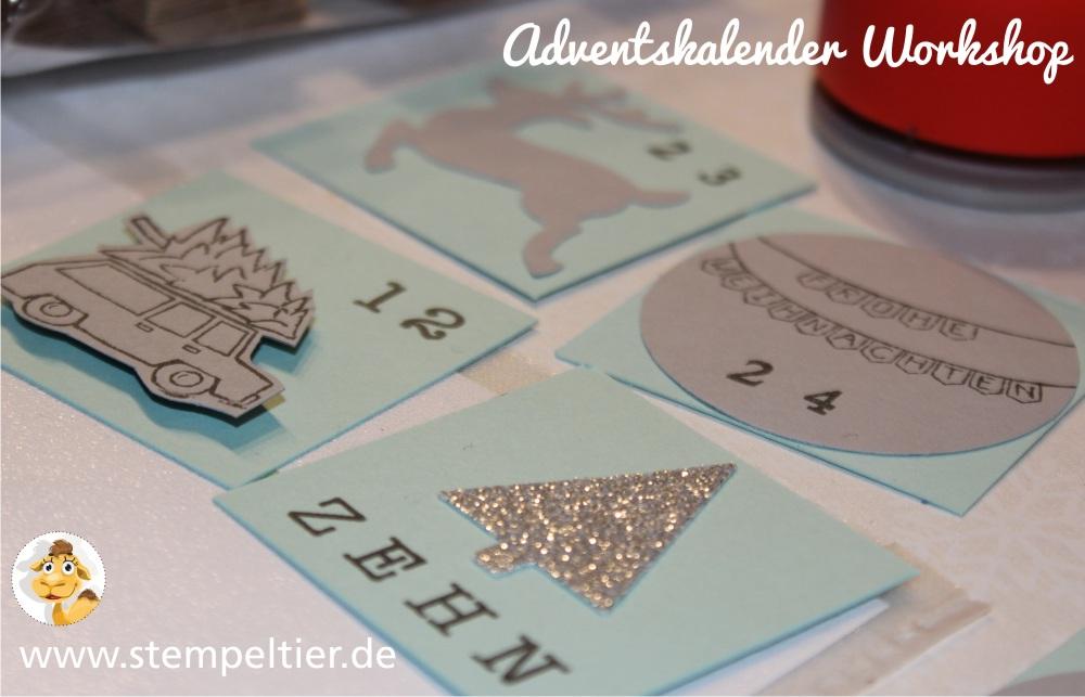 stempeltier adventskalenderworkshop stampin up 24 türchen