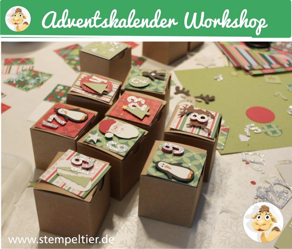 stempeltier adventskalender workshop-stampin-up