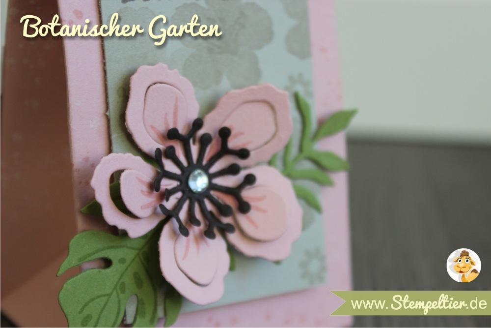 SU stampin up sommer stempeltier botanical blooms rosa verpacken geschenktuete falzbrett stanzbrett punchboard gift bag 1