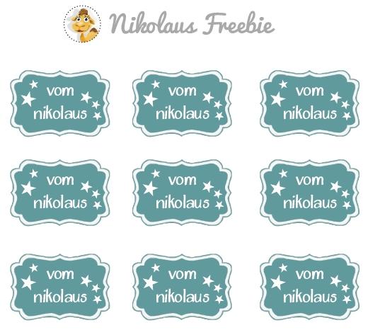 stempeltier stampin up dekoratives etikett freebie ausdrucken vorlage printable Nikolaus