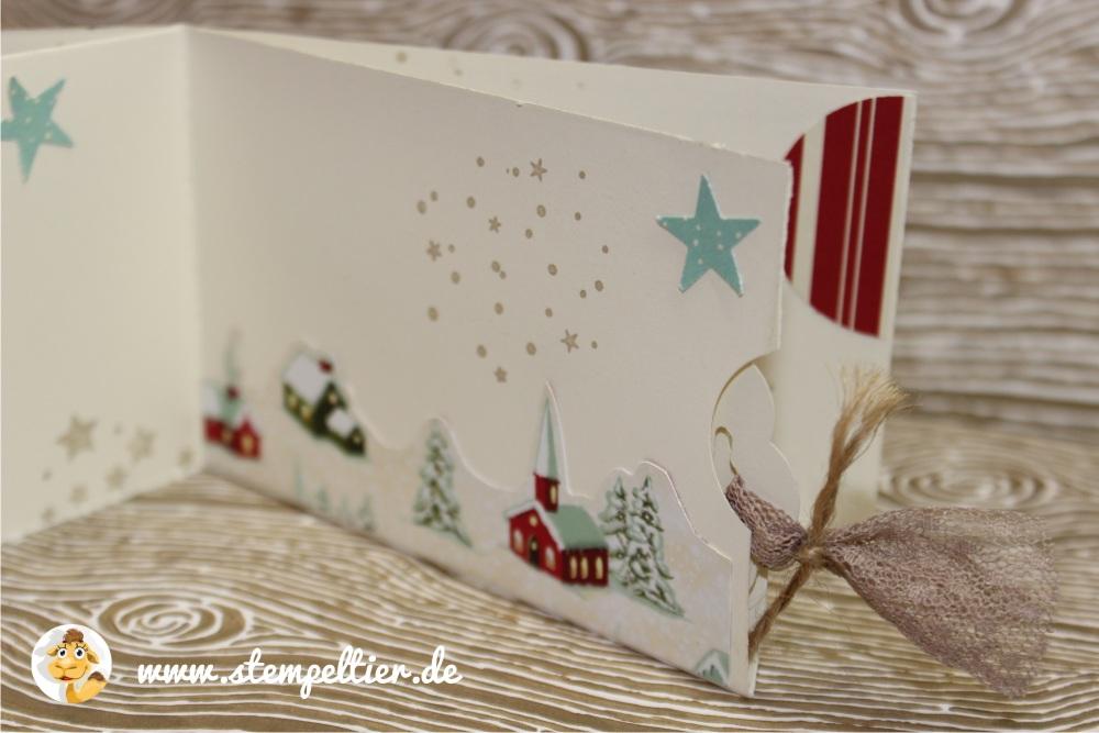plätzchen stempeltier stampin up heimelige weihnachten DSP kitz bambi reh plätzchen rezept minibuch weihnachten 4