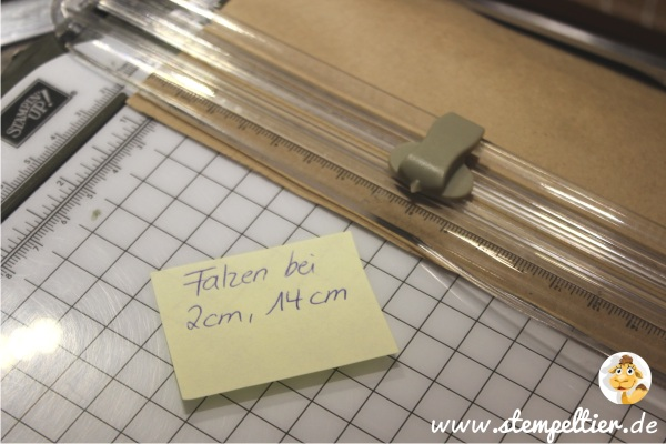 verpackung anleitung tutorial how to badesalz stampin up SAB saleabration stempeltier maße falzen