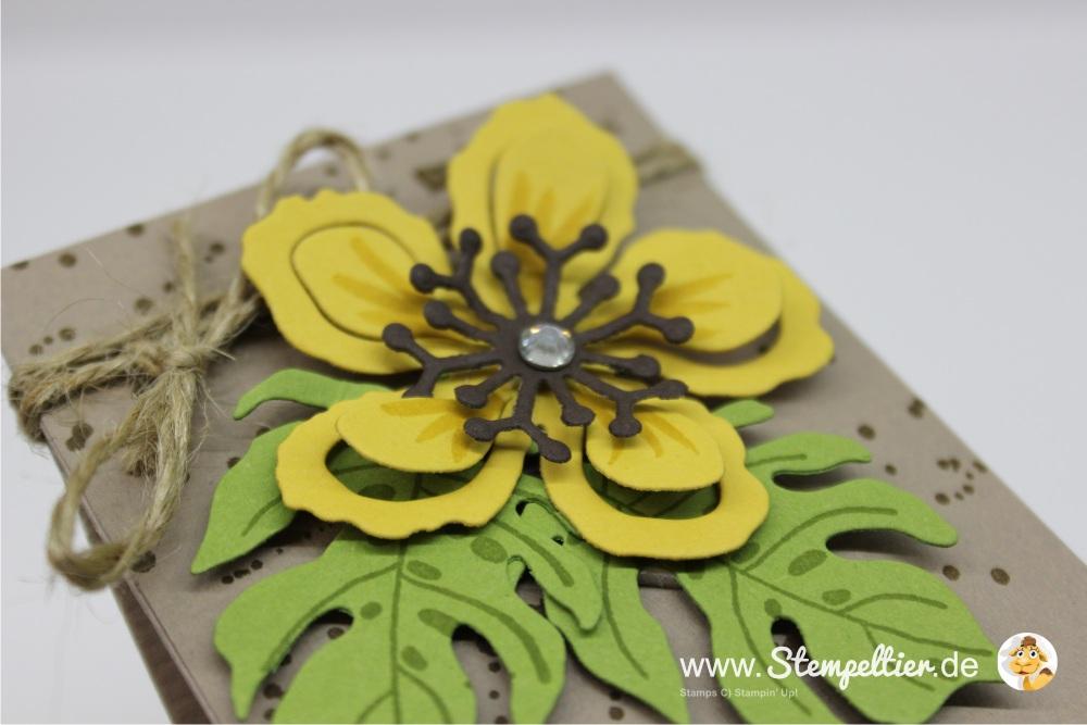 botanischer garten botanical garden frühjahr sommer 2016 stampin up stempeltier geschenktüte falzbrett punchboard verpackung verpacken giftbag kleinigkeit partygruesse 1