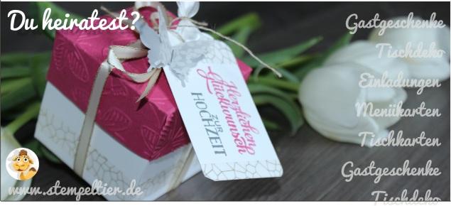 Hochzeit in der Box