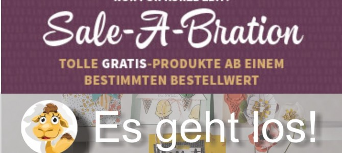 Sale-a-bration 2016 – die Party beginnt