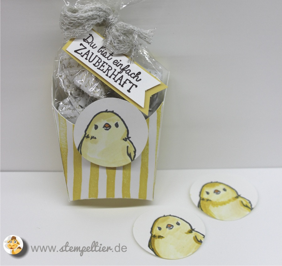 stampin up so suess süß SAB saleabration Küken Ostern chick easter honeycomb happiness stempeltier 2