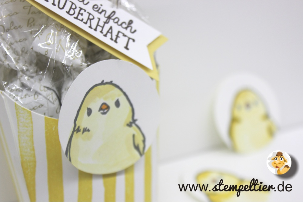 stampin up so suess süß SAB saleabration Küken Ostern chick easter honeycomb happiness stempeltier