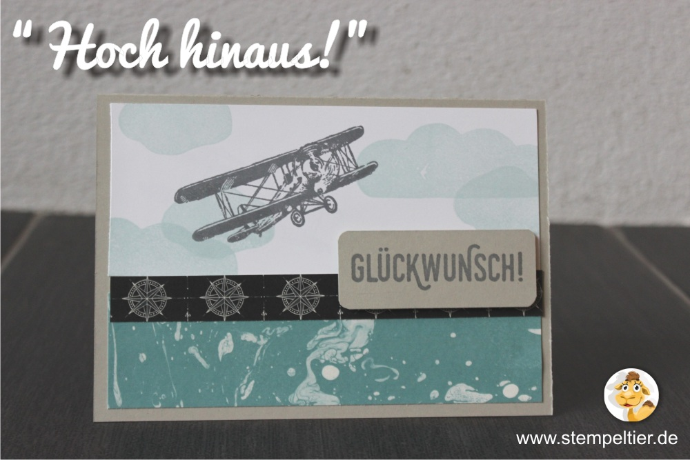 stampin up stempeltier hoch hinaus SAB saleabration occasion catalogue hoch hinaus the sky is the limit