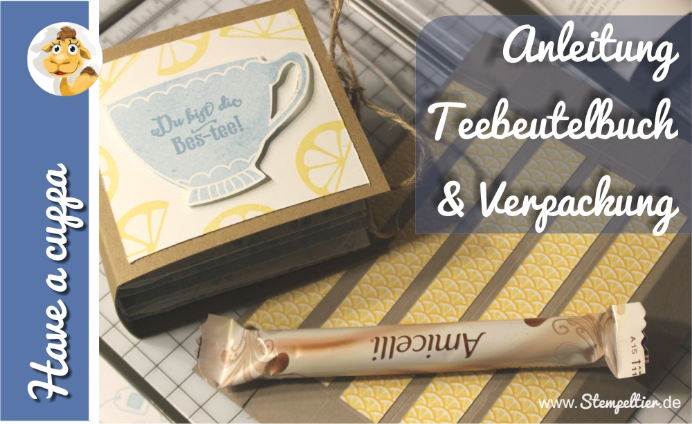 stampin up vollkommene momente have a cuppa tea Tee anleitung tutorial frühjahr sommerkatalog SAB saleabration 2016 amicelli Box