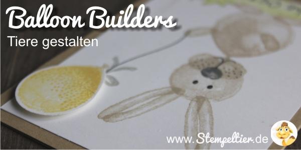 Kleiner Osterhase aus Ballon Builders