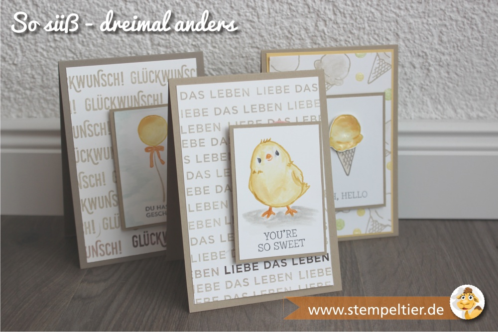 stampin up SAB sale-a-bration 2016 honeycomb happiness stempeltier chick