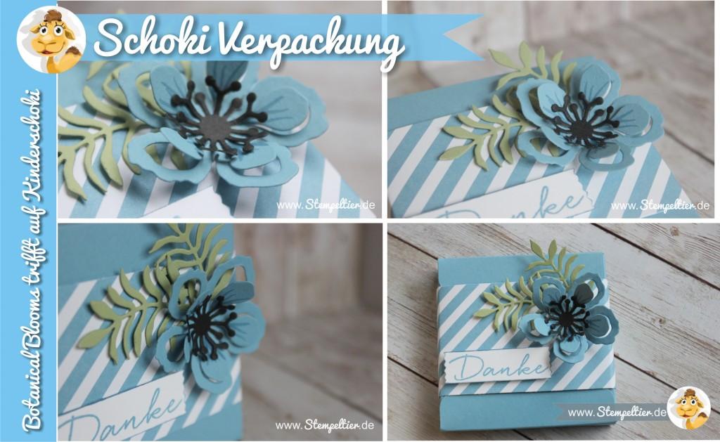 stampin up botanical blooms verpackung schokolade merci goodies stempeltier