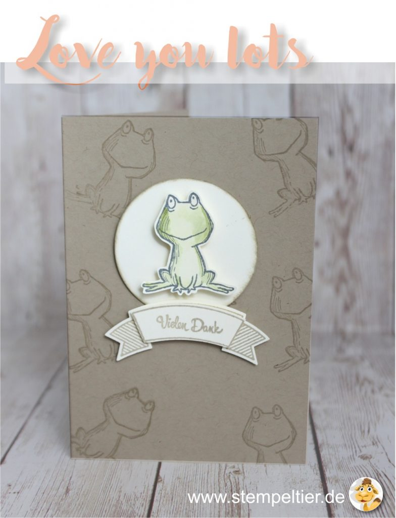 stampin up 2017 preview sneak peek love you lots gastgeberin hostess stempeltier frosch frog