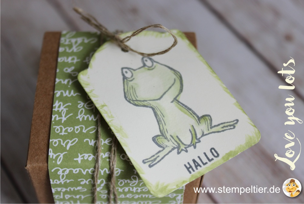 stampin up 2017 preview sneak peek love you lots gastgeberin hostess stempeltier frosch frog bannerweise grüße banner punch