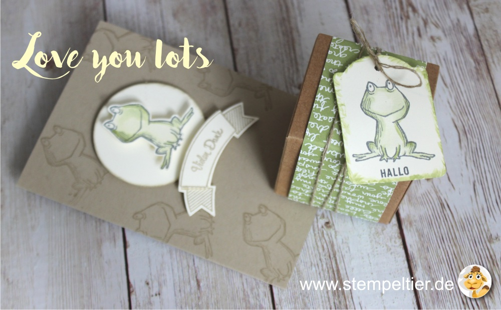 stampin up 2017 preview sneak peek love you lots gastgeberin hostess stempeltier frosch frog new