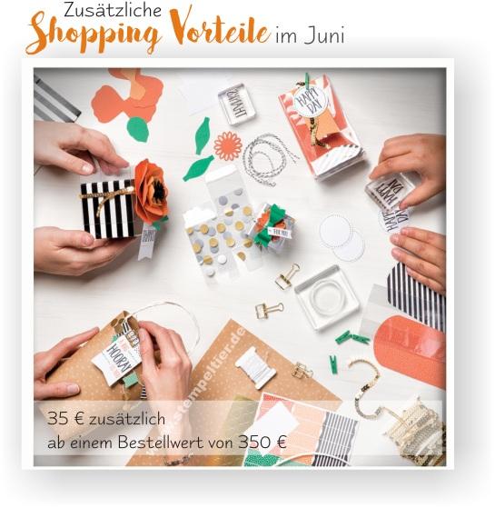 stampin up shpooing vorteile juni 2016 35 eur special stempeltier