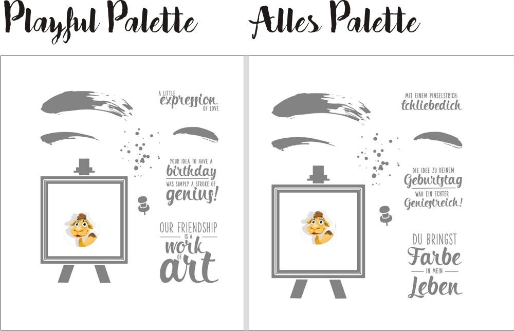 141910 stampin up playful painters palette Stafellei du bringst Farbe in mein Leben