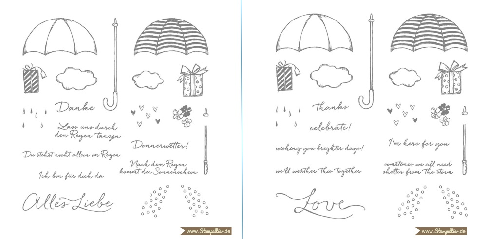 donnerwetter weather together stampin up