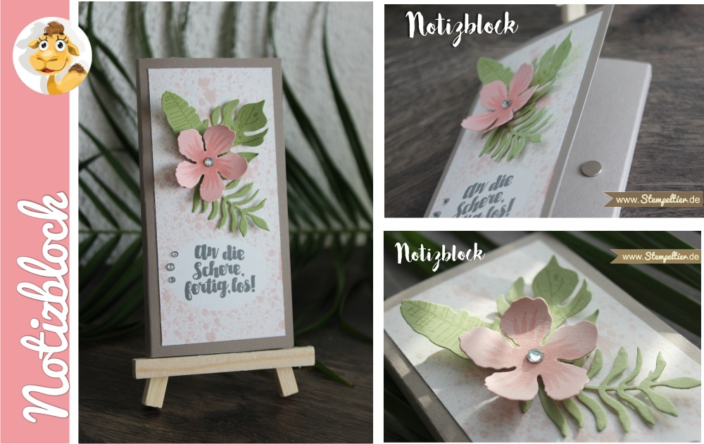 stampin up notizblock Block verpacken Blumen Botanical Blooms botanischer Garten Stempeltier 4