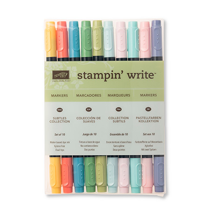 stampin write marker pastellfarben