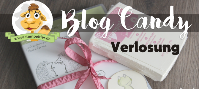 Blog Candy zum Demo Geburtstag
