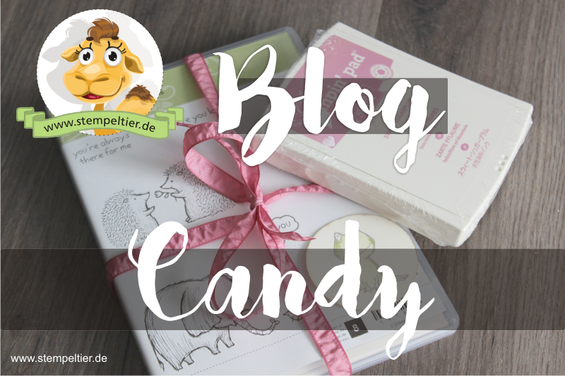 blog candy stempeltier love you lots