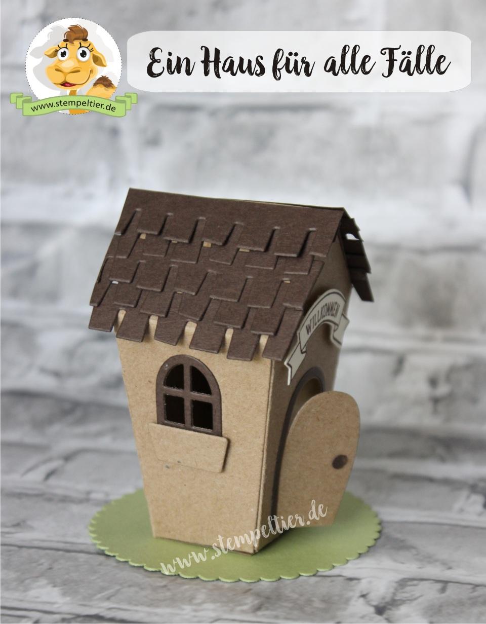 stampin up sweet home ein haus für alle Fälle zu Hause Hausbau willkommen neues Zuhause Stempeltier