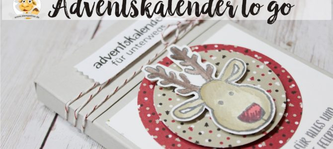 Adventskalender to go – Schokolinsen