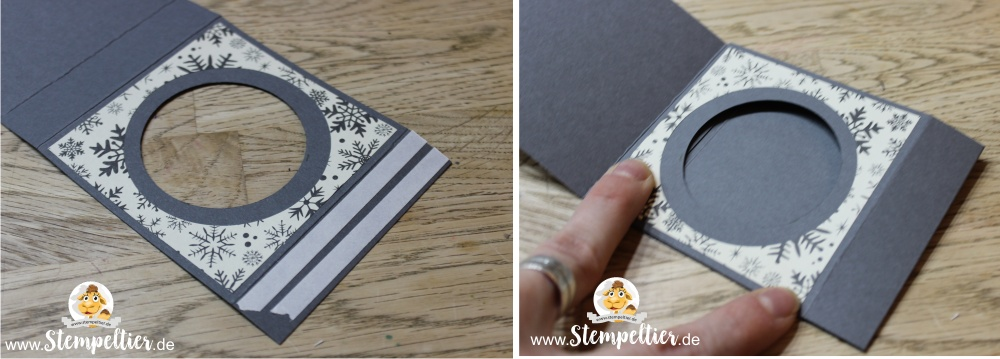 stampin up blog adventskranz to go unterwegs anleitung winter stempeltier