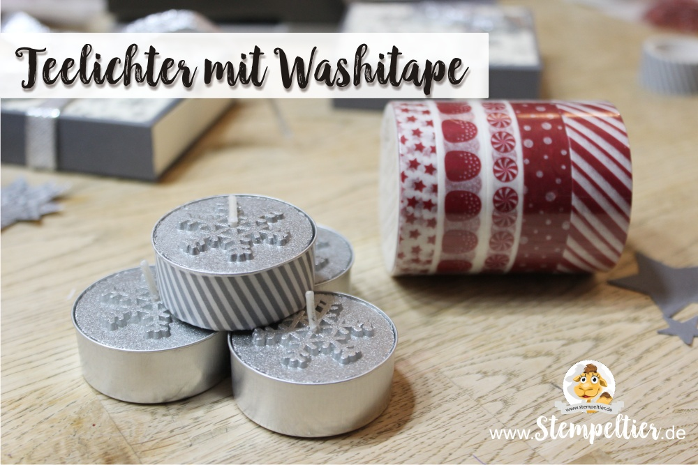 stampin up blog anleitung advent teelicht mini adventskranz sterne winter stempeltier maße washi