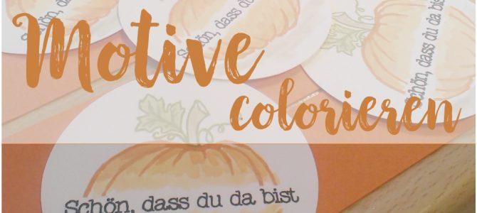 Colorieren im Herbst