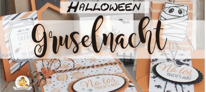 Gruselnacht und Geisterschreck – Halloween mit Stampin' Up!