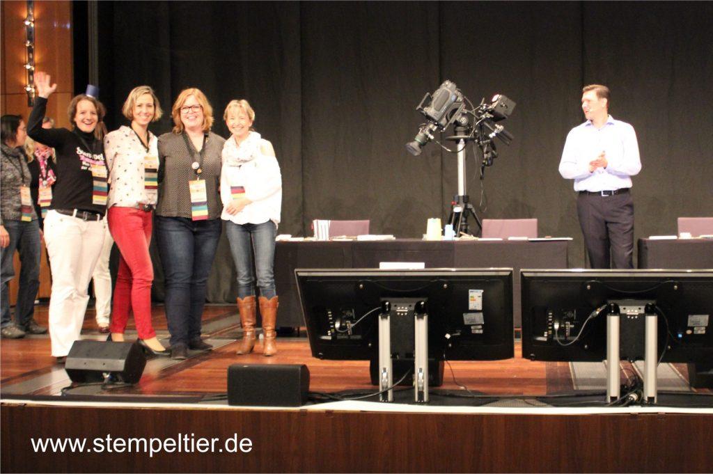 onstage stampin up düsseldorf 2016 ehrungen bühne
