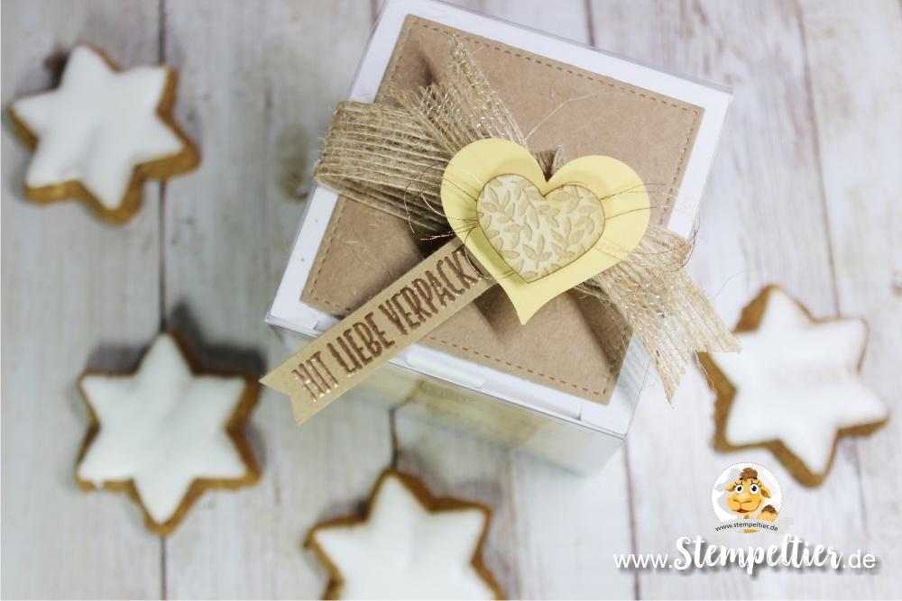 stampin up blog freude für die feiertage weihnachten verpacken zimt stern plätzchen verpacken stempeltier geschenkschachtel kupfer kaufbeuren