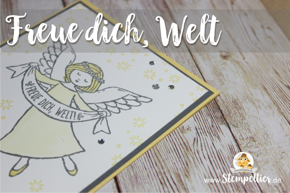 stampin up wonder of christmas angel blog freue dich welt stempeltier weihnachten