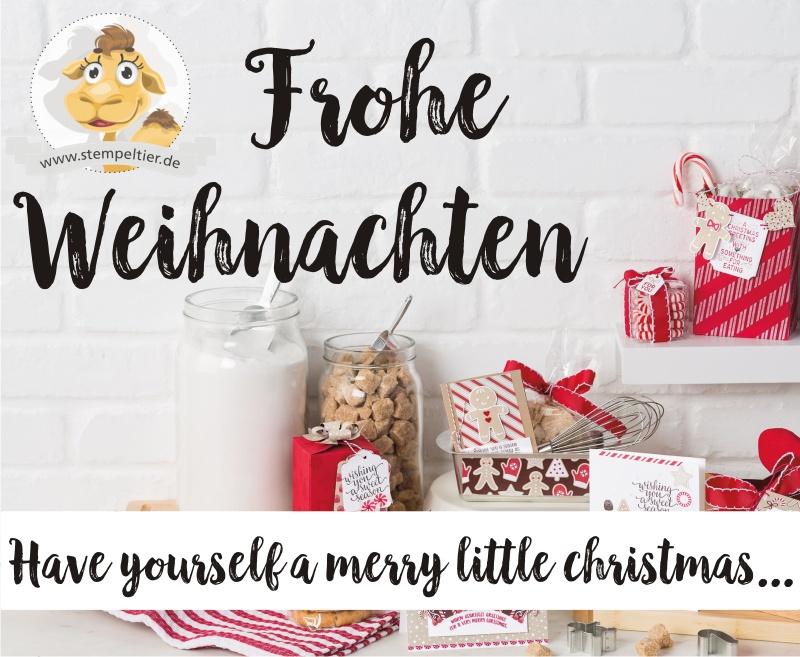 Frohe Weihnachten Liebe.Frohe Weihnachten Ihr Lieben Stempeltier