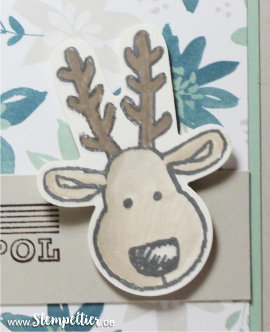 stampin up blog ausgestochen weihnachtlich weihnachtskarte stampin up stempeltier dsp blühende fantasie rudi nordpol 2016