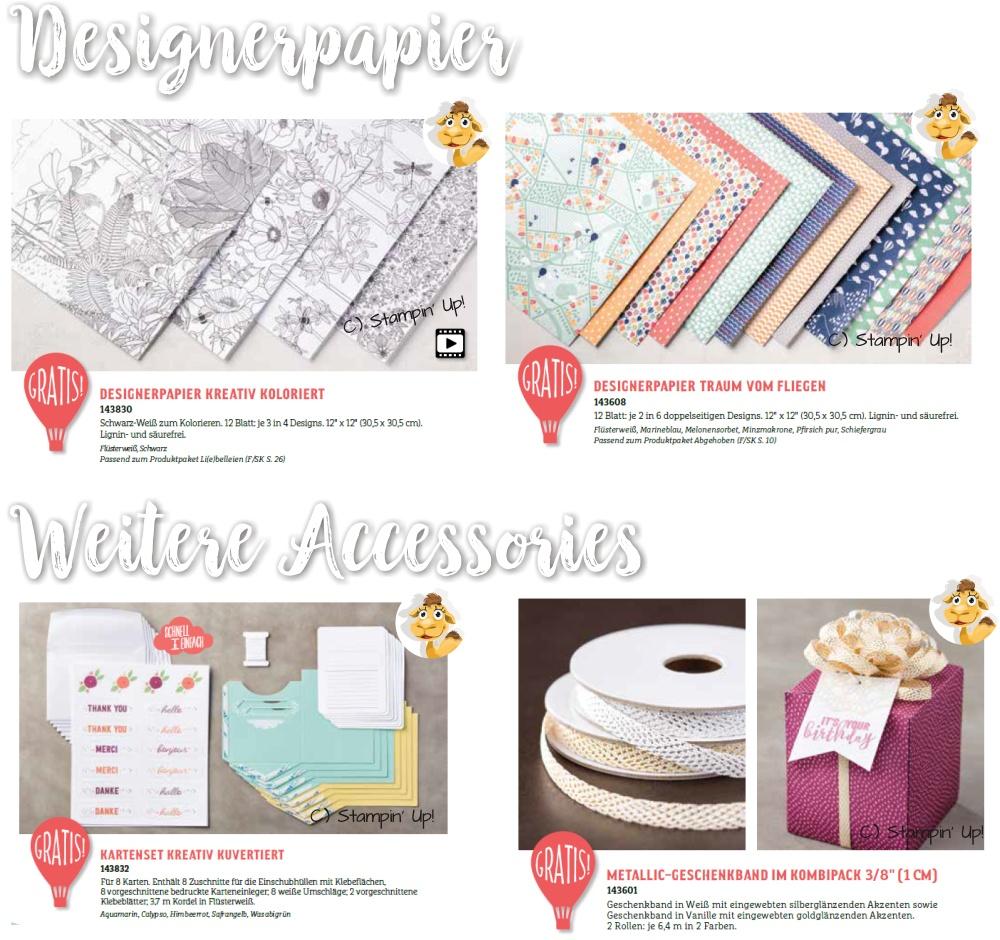 stampin up SAB sale a bration prämien stempeltier blog DSP Designerpapier Bänder