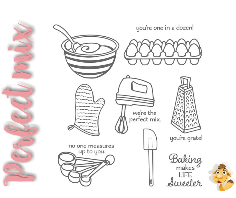 perfect mix stampin up backen